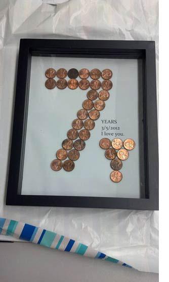 Copper theme 7th anniversary