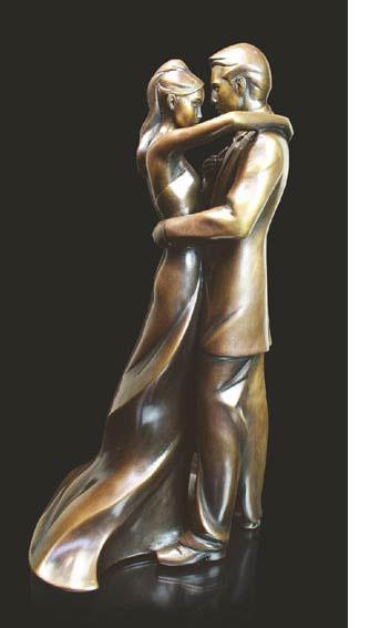 Bronze sculpture 8th anniversary