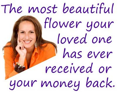 The most beautiful flower or your money back