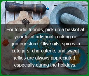 christmas git for friend artisanal groceries
