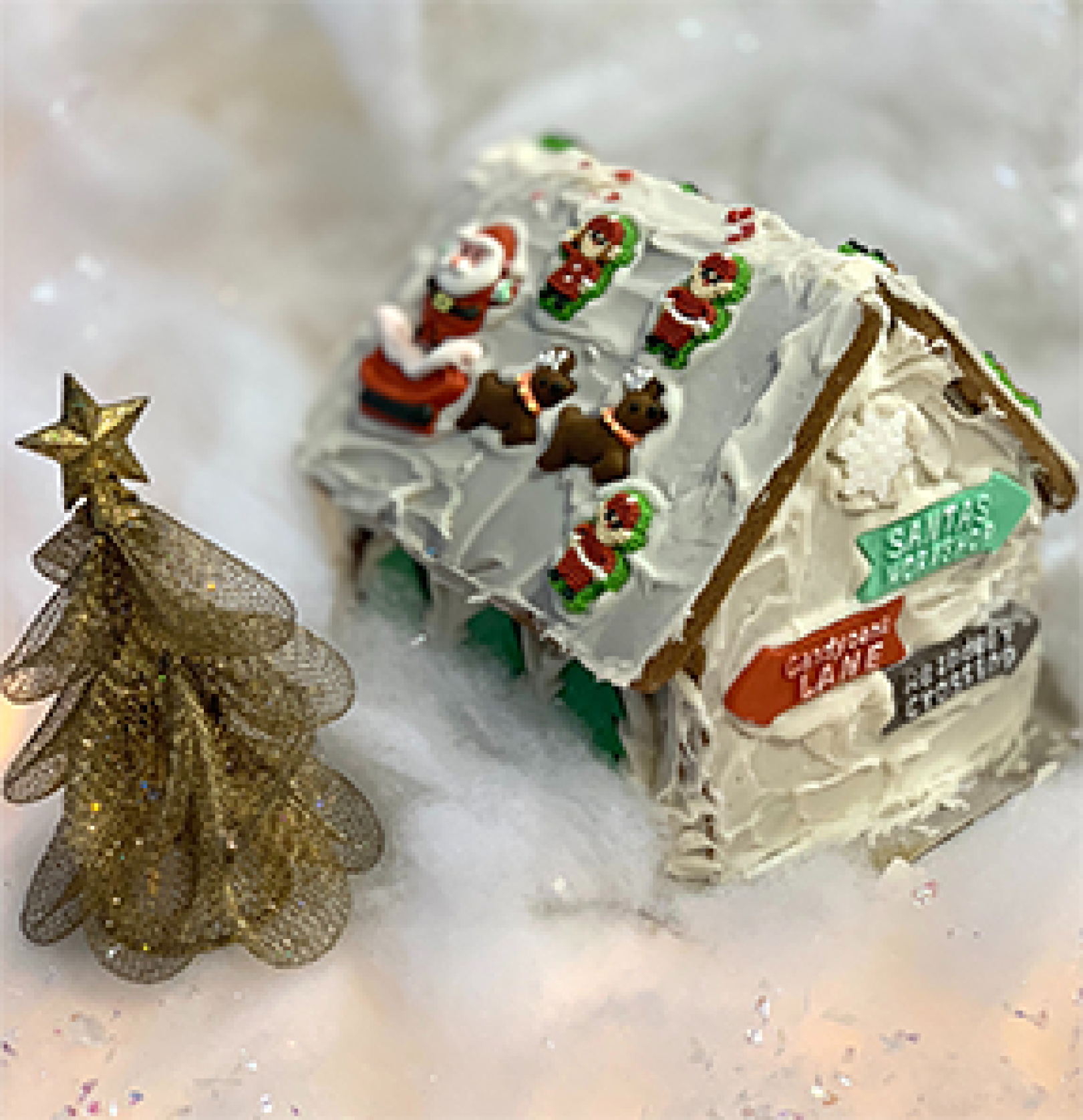 christmas tradition ginger bread house