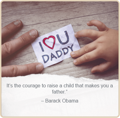 Father's day quote by - Barack Obama