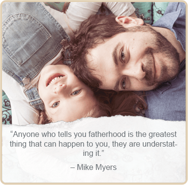 Father's day quote by - Mike Myers