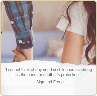 Father's day quote by - Sigmud Freud