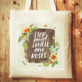 graduation gift for girls - beautiful tote bag