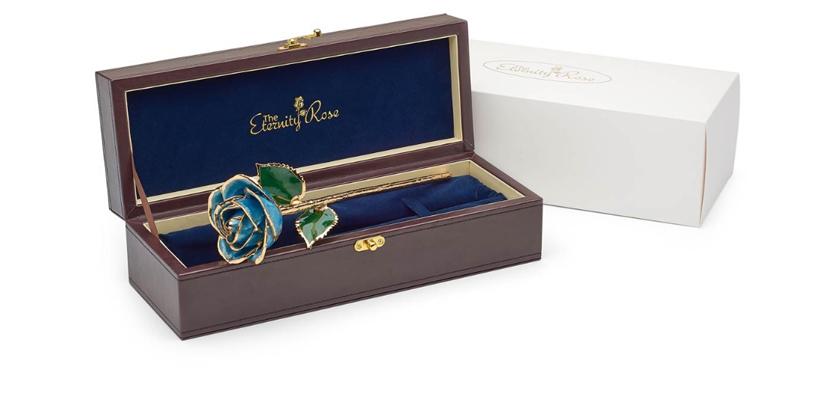 unique graduation gift gold rose