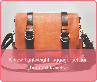 mothersday last minute gift luggage