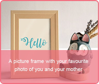 mothersday last minute gift picture frame