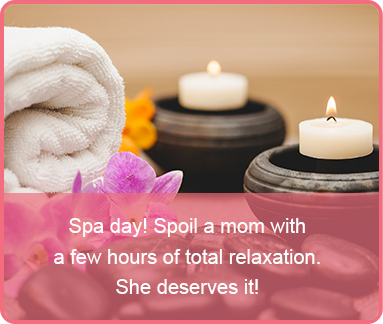 mothersday last minute gift spa day