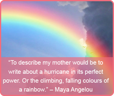 mothers day quote - Maya Angelou