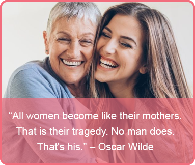 mothers day quote - Oscar Wilde