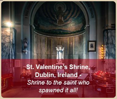 valentine romantic places shrine dublin