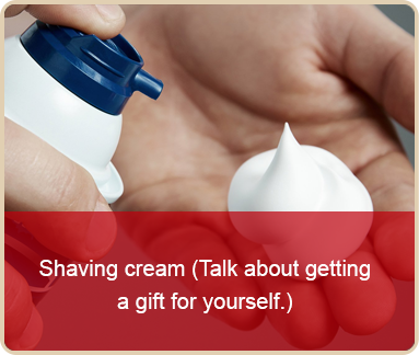 valentines day worst gift shaving cream