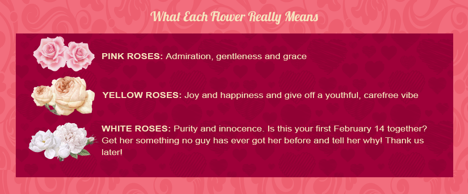 canada valentines day flower guide