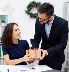 valentines gift when working together