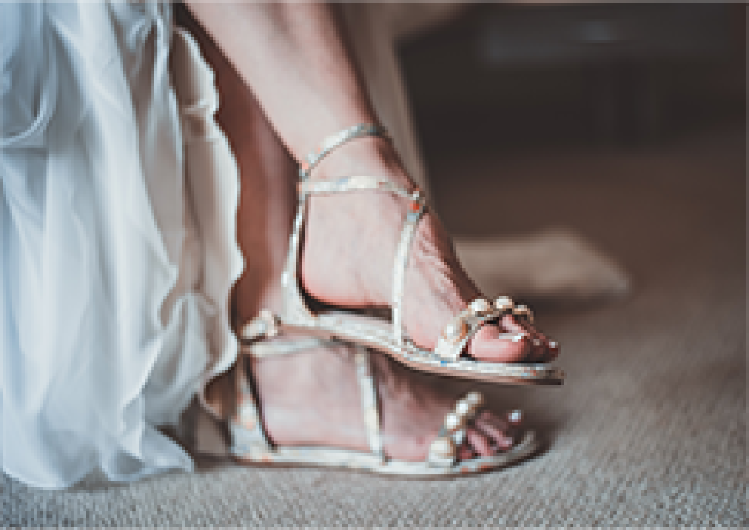 Wedding gift designer shoes or scent