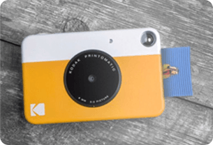 Wedding gift idea for father - instant print camera