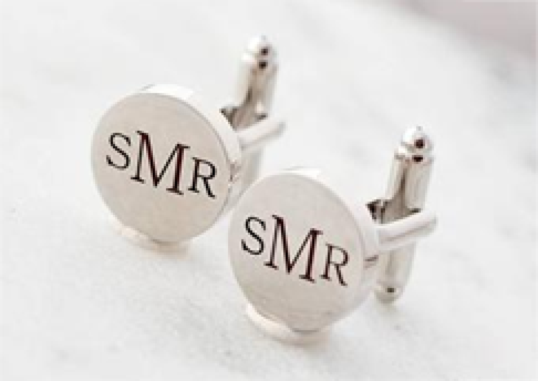 Wedding gift for husband cuff link