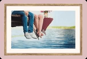 Wedding gift idea for mother - framed photo
