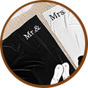 wedding gift for bridesmaid - matching towel set