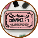 wedding gift for bridesmaid - survival pack