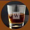 Wedding gift for man - whiskey glass