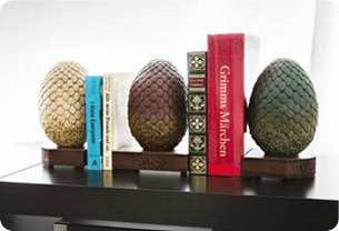 Wedding gift idea for mother - bookends